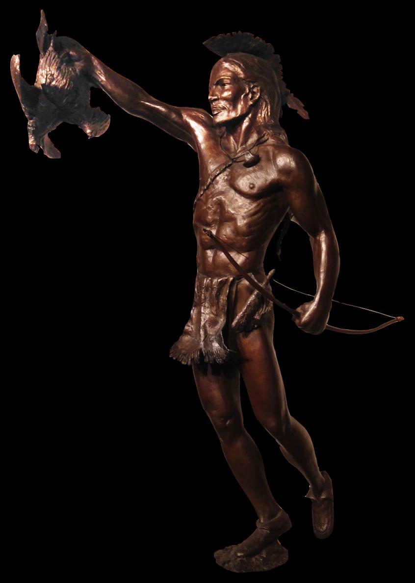 Akwesasne Sculpture